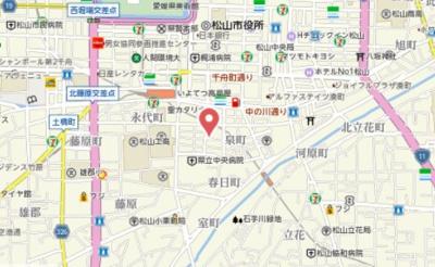 【地図】オックスフォードサーカス春日町 本館
