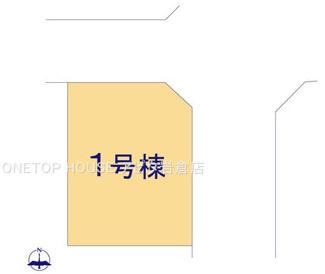 【区画図】北名古屋市熊之庄小烏