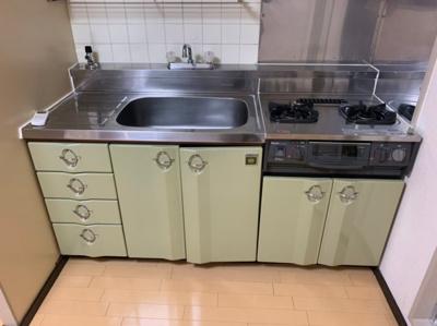【キッチン】ライオンズマンション東本町第2