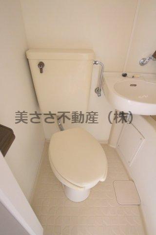 【トイレ】パークヴィラ千人町