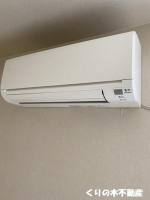 エアコン付きです