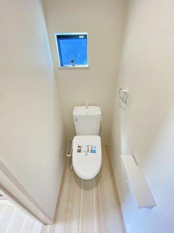 現地写真。2階にもトイレです。
