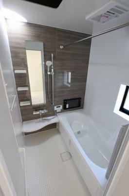 テレビ付き浴室です