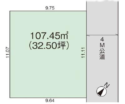 土地図です:三郷新築ナビで検索♪