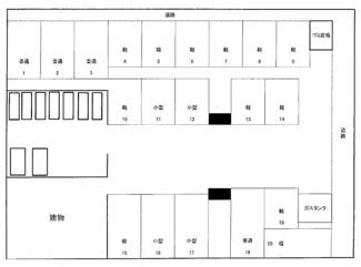 【区画図】Asset古波蔵