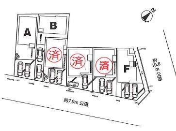 【区画図】さいたま市北区本郷町第1期