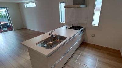 キッチンです。 新築戸建の事はマックバリュで住まい相談へお任せください。