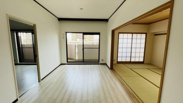 全室リフォーム済ですぐに入居OK! 5階南西角部屋、2面バルコニーの明るいお部屋です