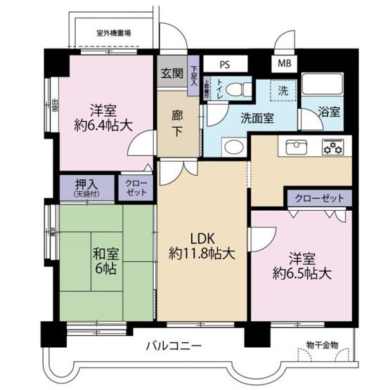 ライオンズマンション南福岡中央