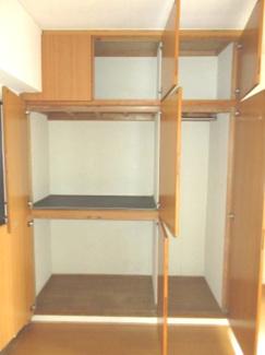 収納スペースがあります