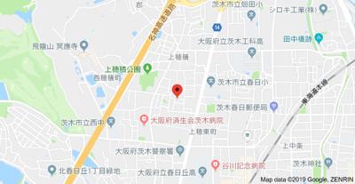 【地図】サンヴェールハイツ