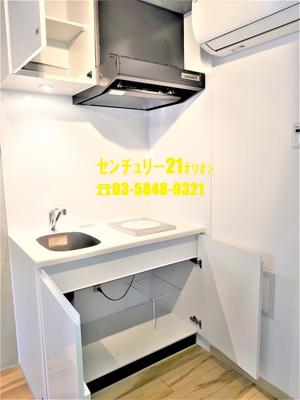 【キッチン】COCOFLAT(ココフラット)中村橋