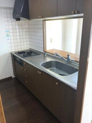 【キッチン】チサンマンション三木町