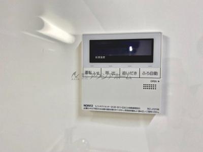 簡単操作で追焚保温・自動湯張りが出来ます。