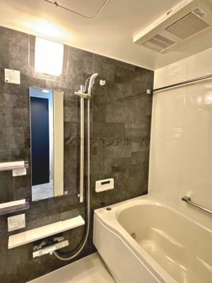 追焚保温・自動湯張り・乾燥機付の綺麗な浴室