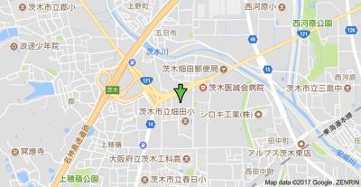 【地図】メゾン ウエスト