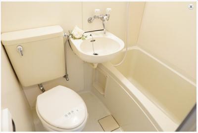【浴室】ラパンジール中川東