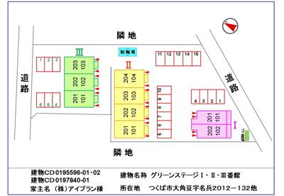 【玄関】グリーンステージⅢ番館