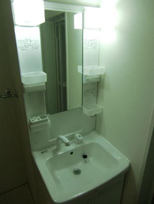 洗面・脱衣室 嬉しい独立洗面台
