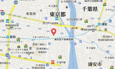 【地図】ル・レーヴ KASAI(ル・レーヴ カサイ)