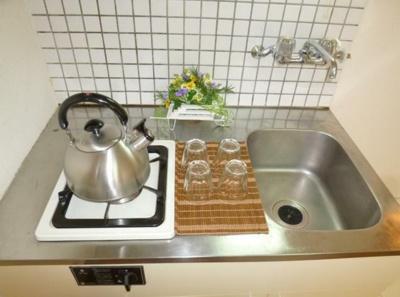 【キッチン】ホワイトヒルズ