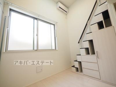 おしゃれなホワイトフローリングの明るいお部屋です☆同一仕様写真