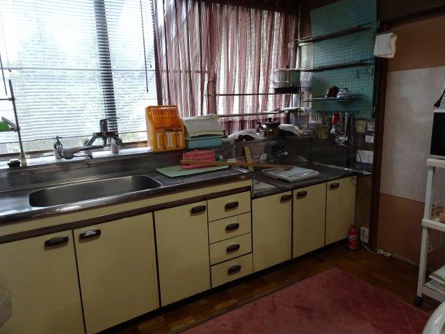 【キッチン】伊那市長谷溝口 中古住宅