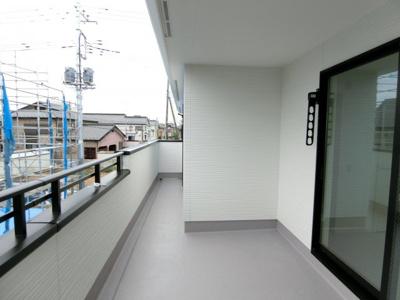 【バルコニー】土浦市城北町1期 新築戸建 全2棟