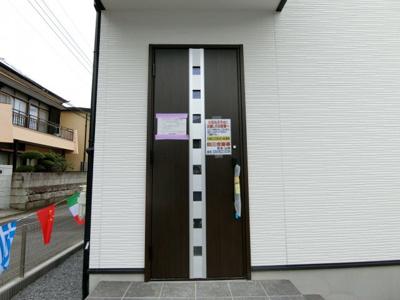 【玄関】土浦市城北町1期 新築戸建 全2棟