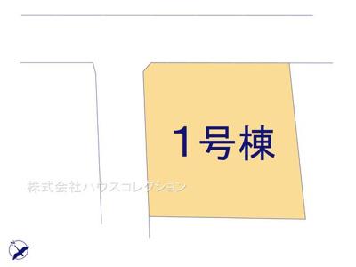 【区画図】土浦市北荒川沖町第2 新築戸建