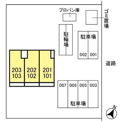 【区画図】グリーン東川口