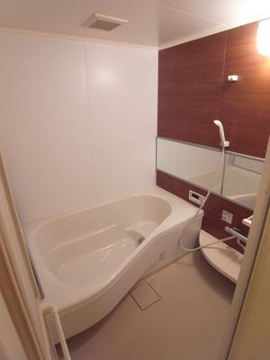 【浴室】ルミエールコートⅠ