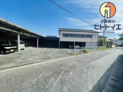 【外観】売戸建と月極駐車場収益付き