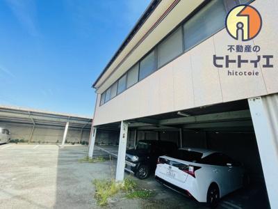 【周辺】売戸建と月極駐車場収益付き