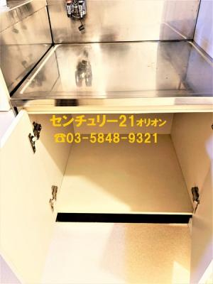 【キッチン】ベルコート貫井(ヌクイ)