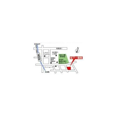 【地図】ミングルAP.坂下一番館