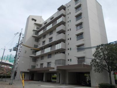 【外観】江坂住宅3号棟