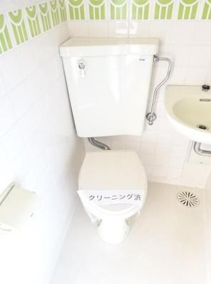 【トイレ】シティコア上野毛