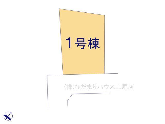 【区画図】桶川市西 20-1期 新築一戸建て リナージュ 01