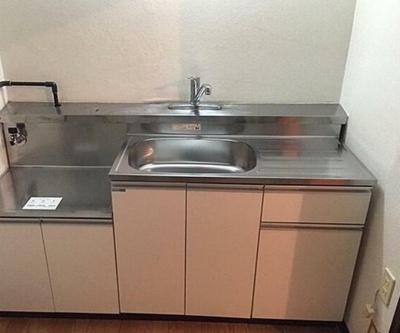 【キッチン】リバーサイド石神井