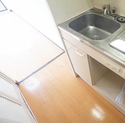 【キッチン】フローラル練馬