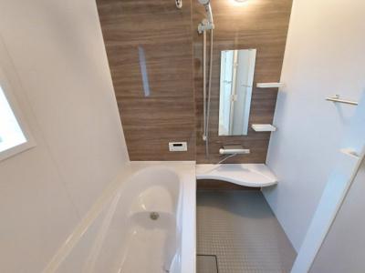 【浴室】名古屋市中川区本前田町245【仲介手数料無料】新築一戸建て 3号棟