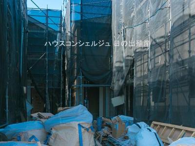 【外観】名古屋市中川区戸田3丁目1344【仲介手数料無料】新築一戸建て 2号棟