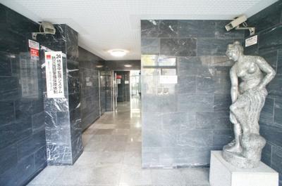 【ロビー】ミタカホーム8番館