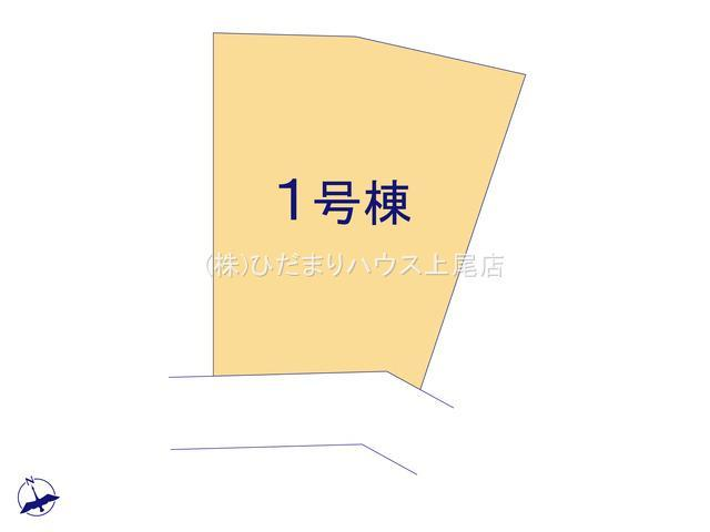 【区画図】行田市城西 新築一戸建て リーブルガーデン 01