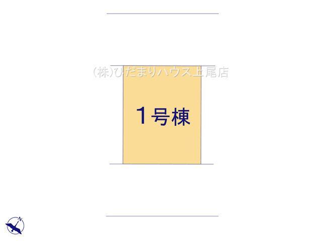 【区画図】上尾市上 新築一戸建て リーブルガーデン 01