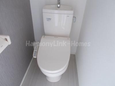CITY  STYLE新大塚のシンプルで使いやすいトイレです