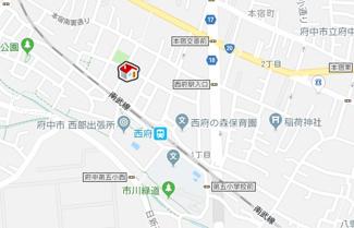 【地図】レオパレスアクシスⅡ(29214-110)