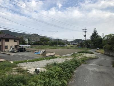 【前面道路含む現地写真】那珂川市大字山田95坪土地