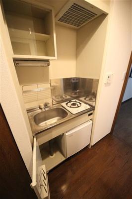 【キッチン】ユニーブル靭公園